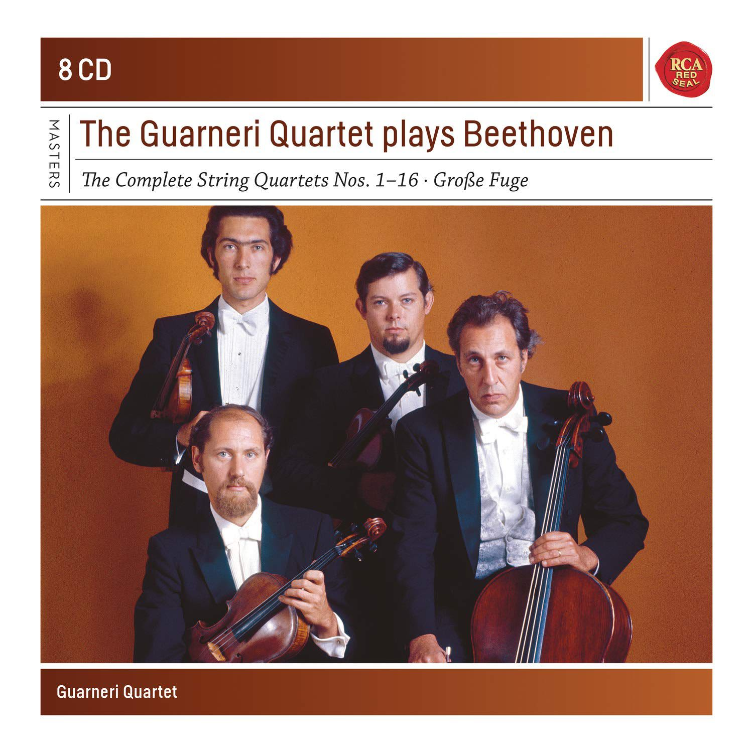 Photo No.1 of The Guarneri Quartet Plays Beethoven