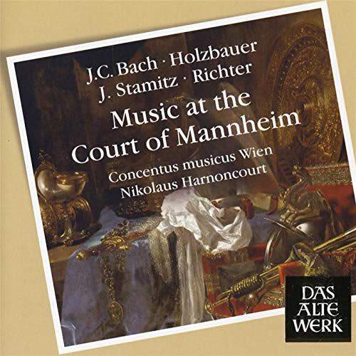 Photo No.1 of J.C. Bach, Richter, Holzbauer, J. Stamitz: Music At The Court Of Mannheim