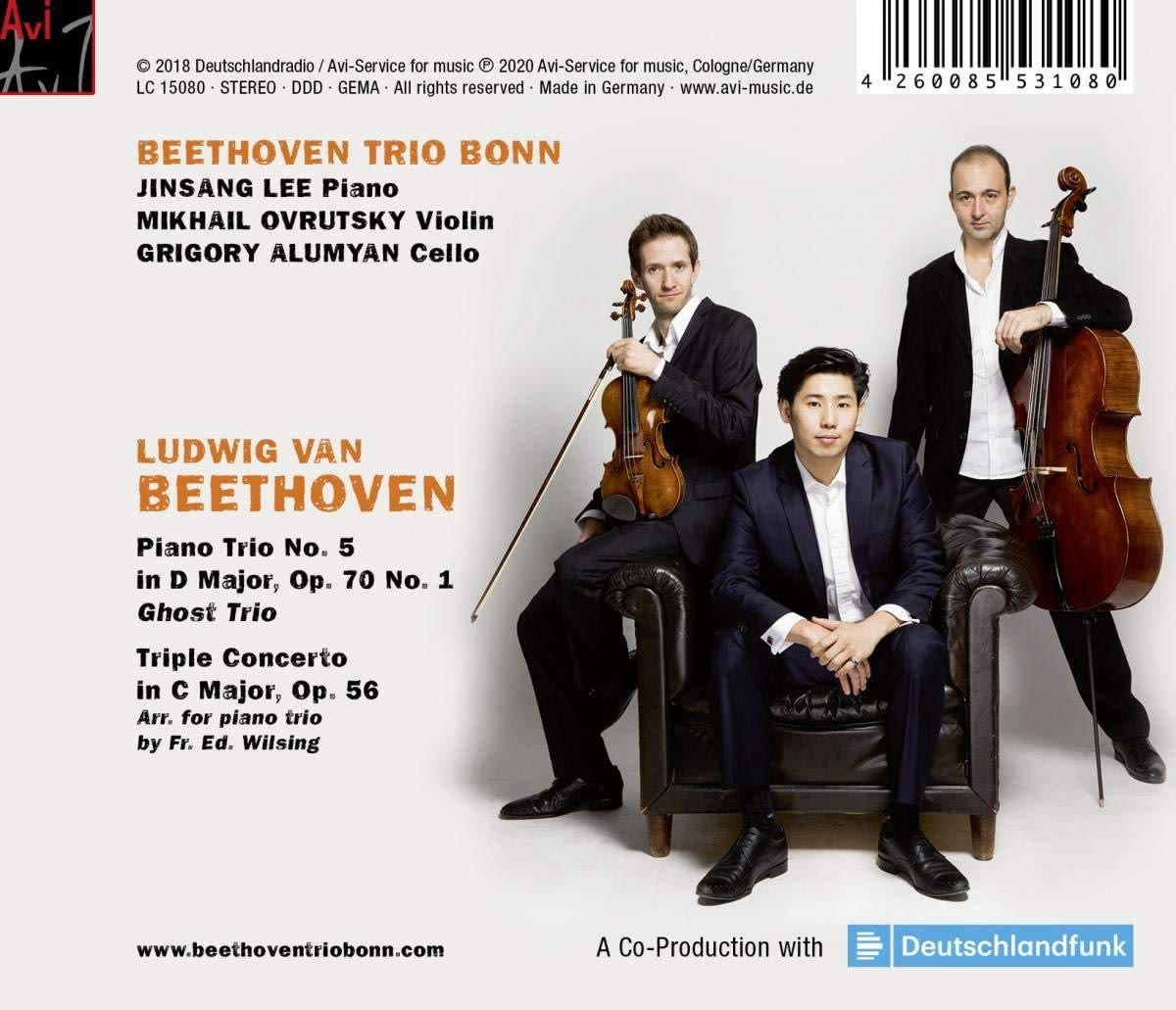 Photo No.2 of Beethoven: Ghost Trio & Triple Concerto