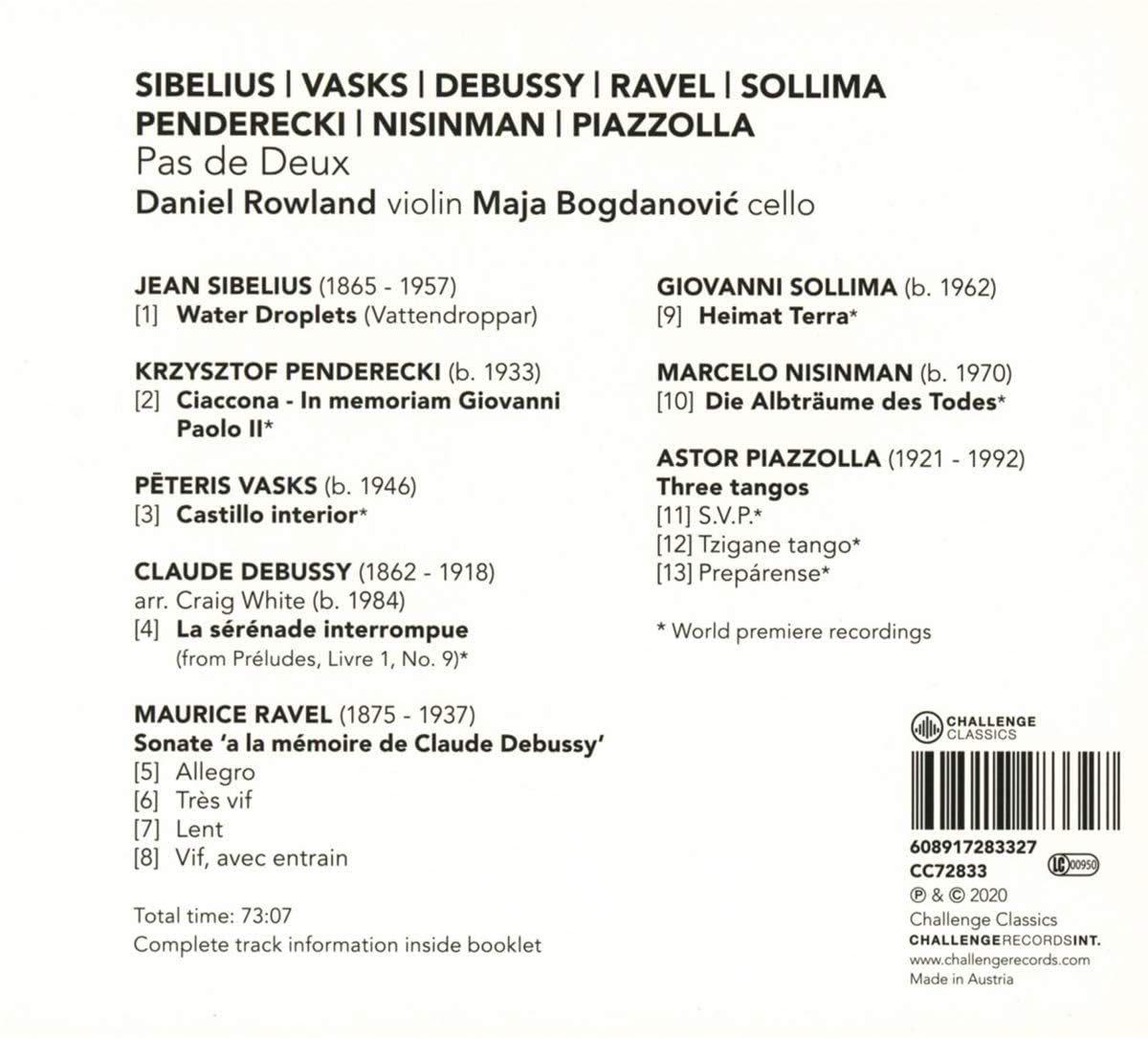 Photo No.2 of Daniel Rowland / Maja Bogdanović Pas de Deux