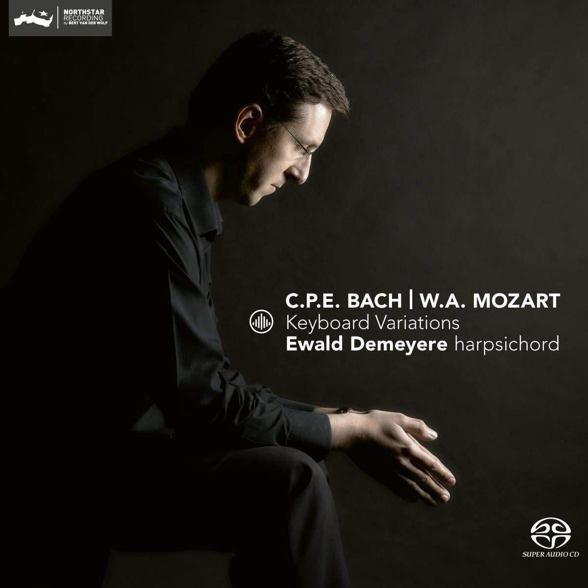 Photo No.1 of CPE Bach & Mozart: Keyboard Variations