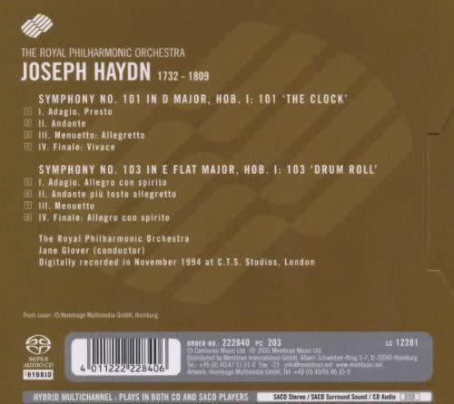 Photo No.2 of Joseph Haydn: Symphonies No. 101 & 103