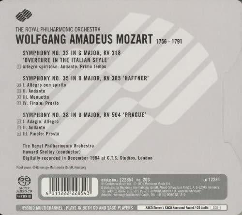 Photo No.2 of Wolfgang Amadeus Mozart: Symphonies No. 32, 35 & 38