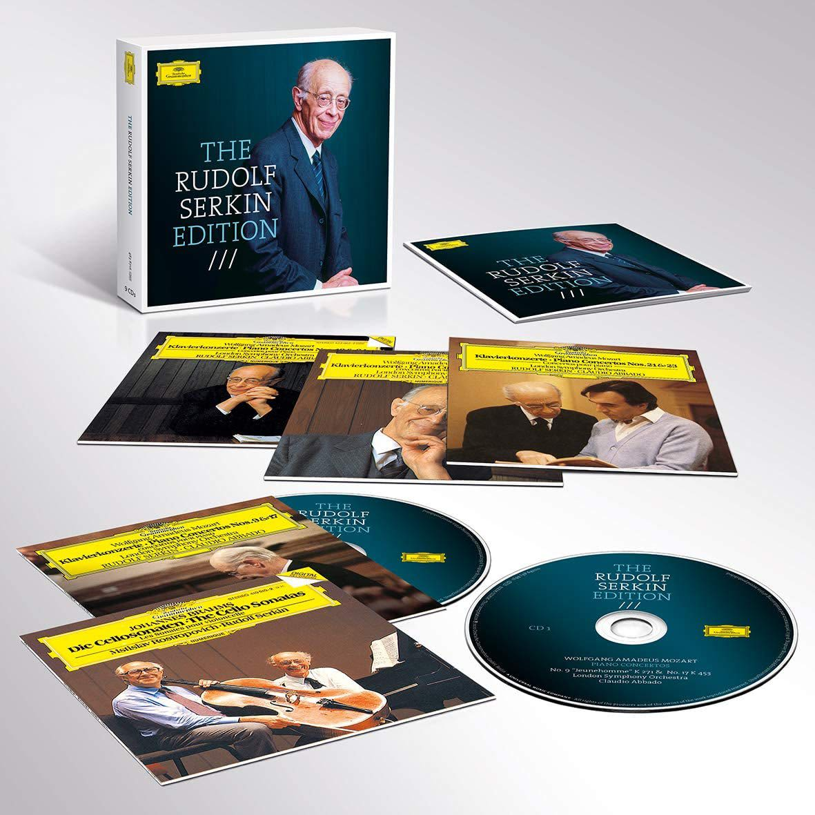 Photo No.2 of The Rudolf Serkin Edition - His Complete DG Recordings
