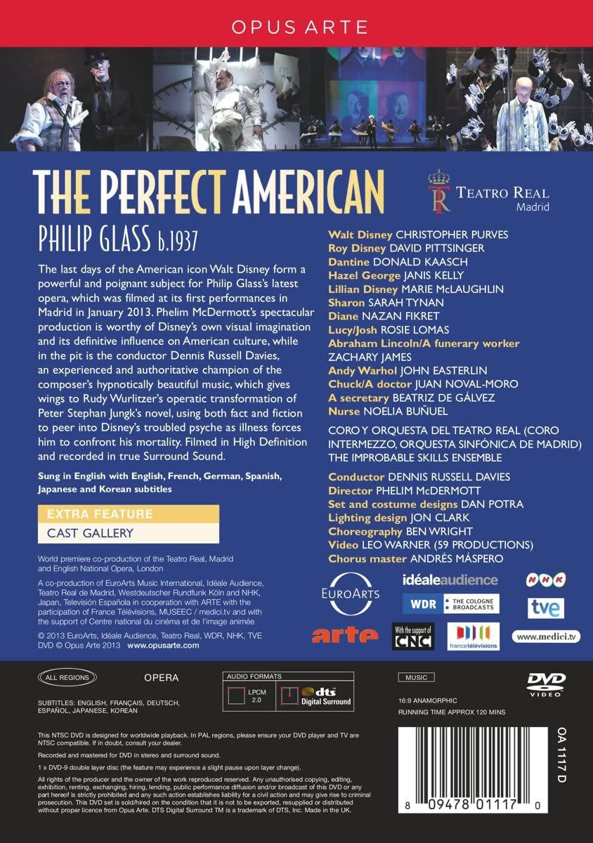 Photo No.2 of Glass, P: The Perfect American