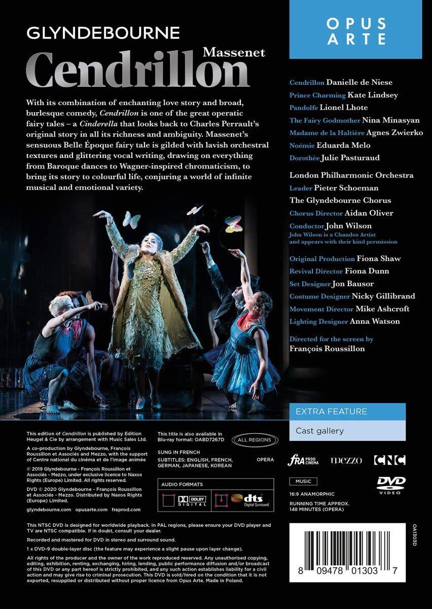 Photo No.2 of Massenet: Cendrillon (DVD)