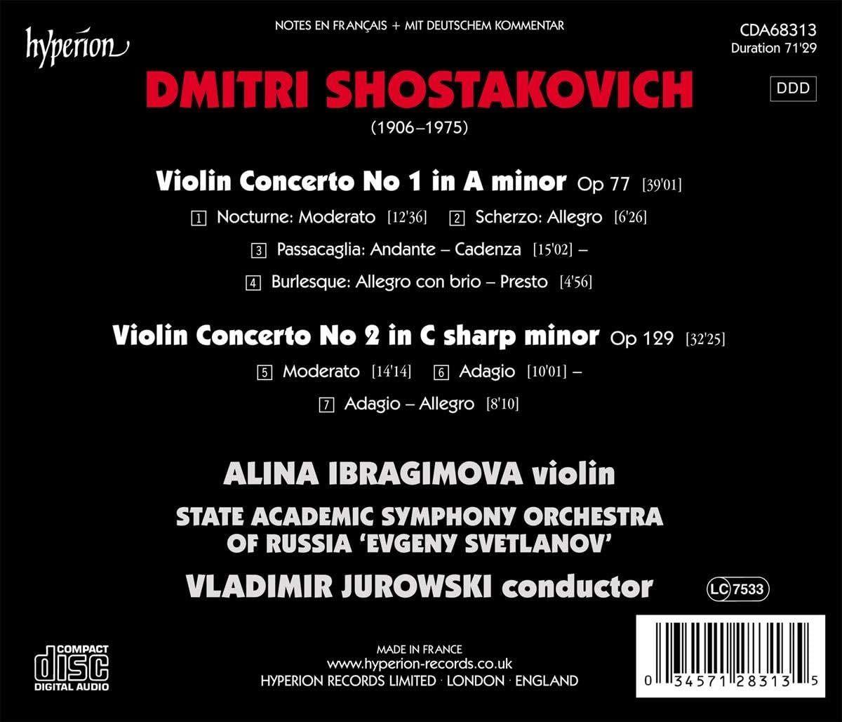 Photo No.2 of Shostakovich: Violin Concertos