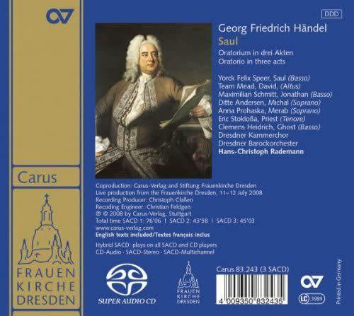 Photo No.2 of Georg Fredrich Handel: Saul