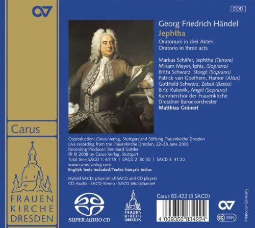 Photo No.2 of George Frideric Handel: Jephtha