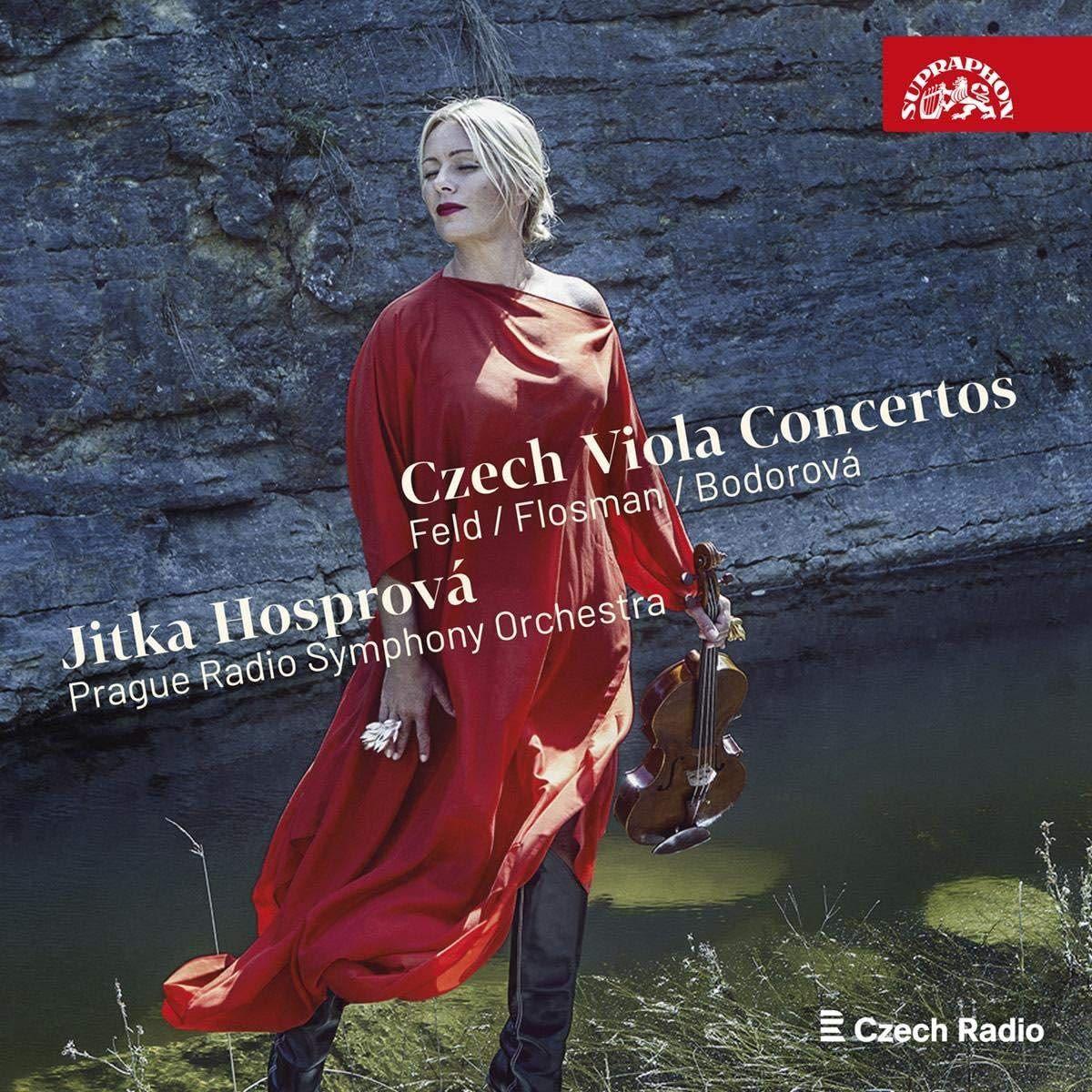Photo No.1 of Czech Viola Concertos - Music by Feld, Flosman; Bodorova