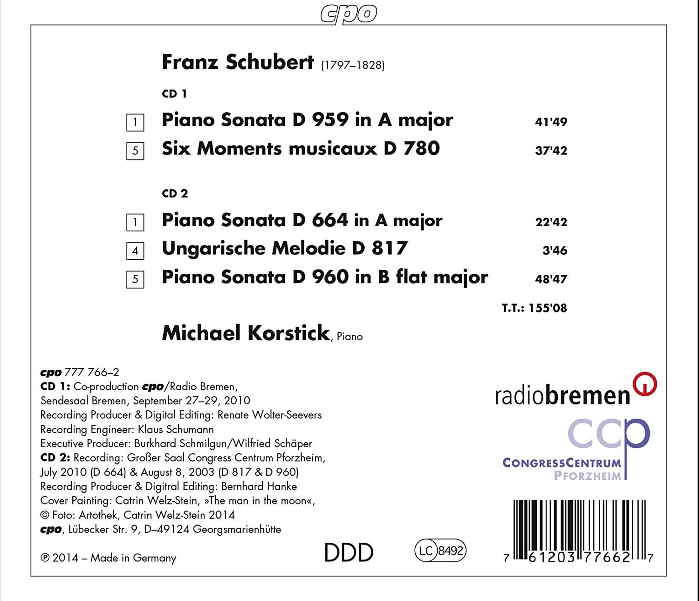 Photo No.2 of Schubert: Piano Works