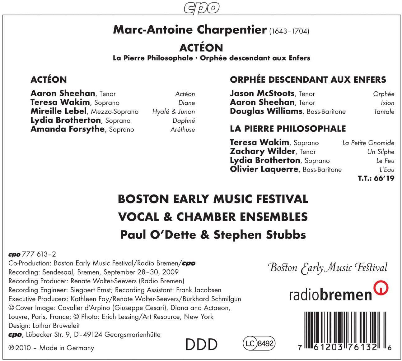 Photo No.2 of Charpentier: Baroque Operas