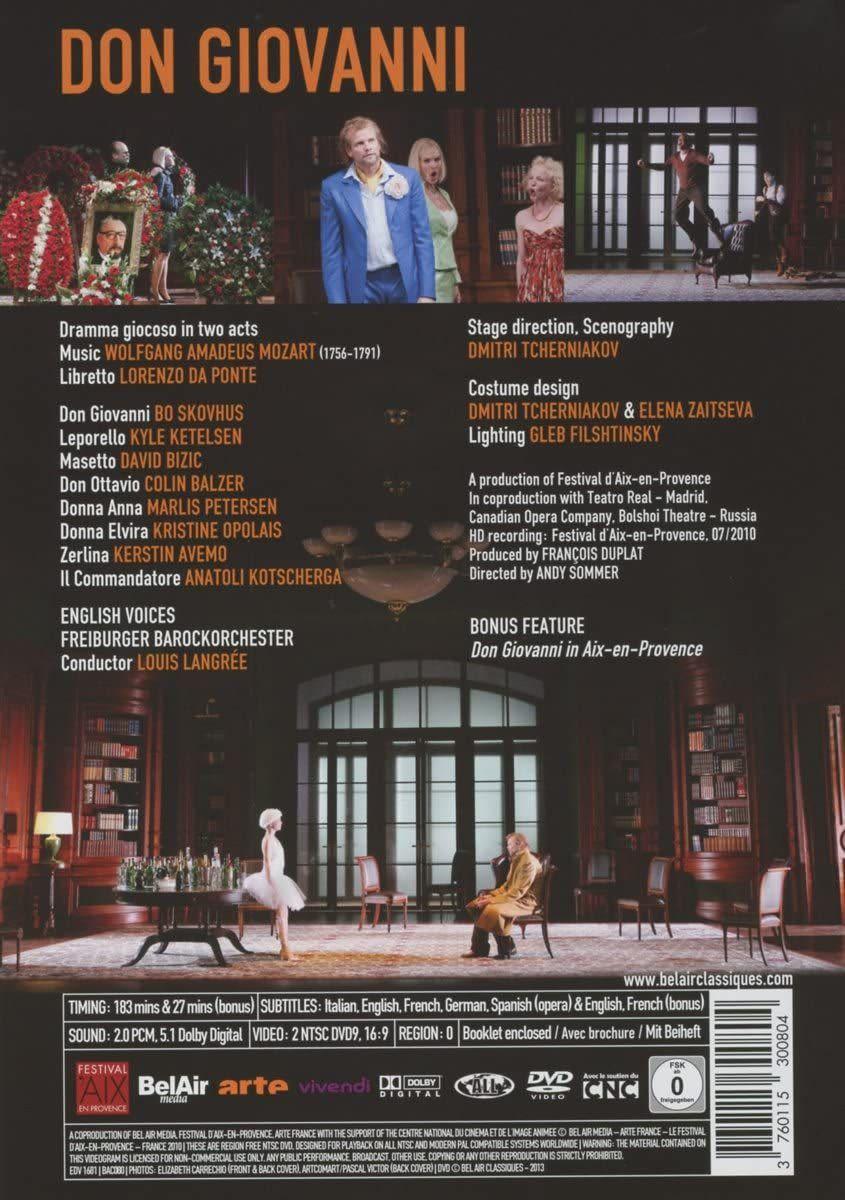 Photo No.2 of Wolfgang Amadeus Mozart: Don Giovanni