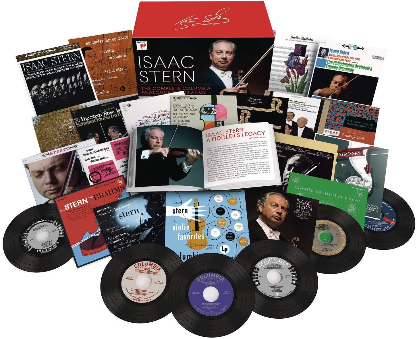 Photo No.1 of Isaac Stern - Complete Columbia Analogue Recordings