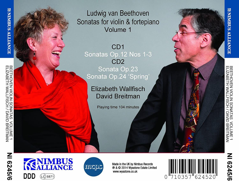 Photo No.2 of Beethoven Sonatas for Violin & Pianoforte Vol.1