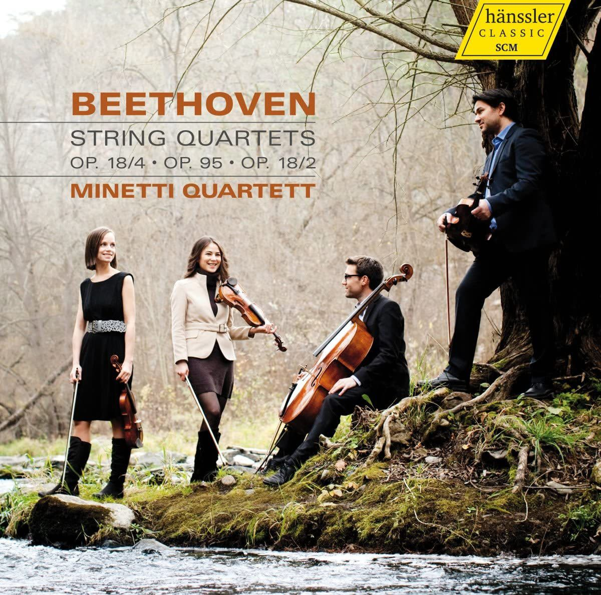 Photo No.1 of Beethoven: String Quartets Nos. 2, 4 & 11