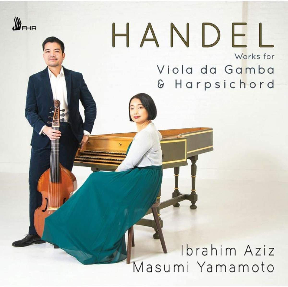 Photo No.1 of Handel: Works For Viola da Gamba and Harpsichord