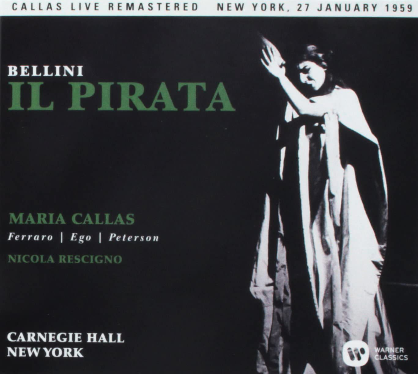 Photo No.1 of Bellini: Il pirata (1959) Callas Live Remastered