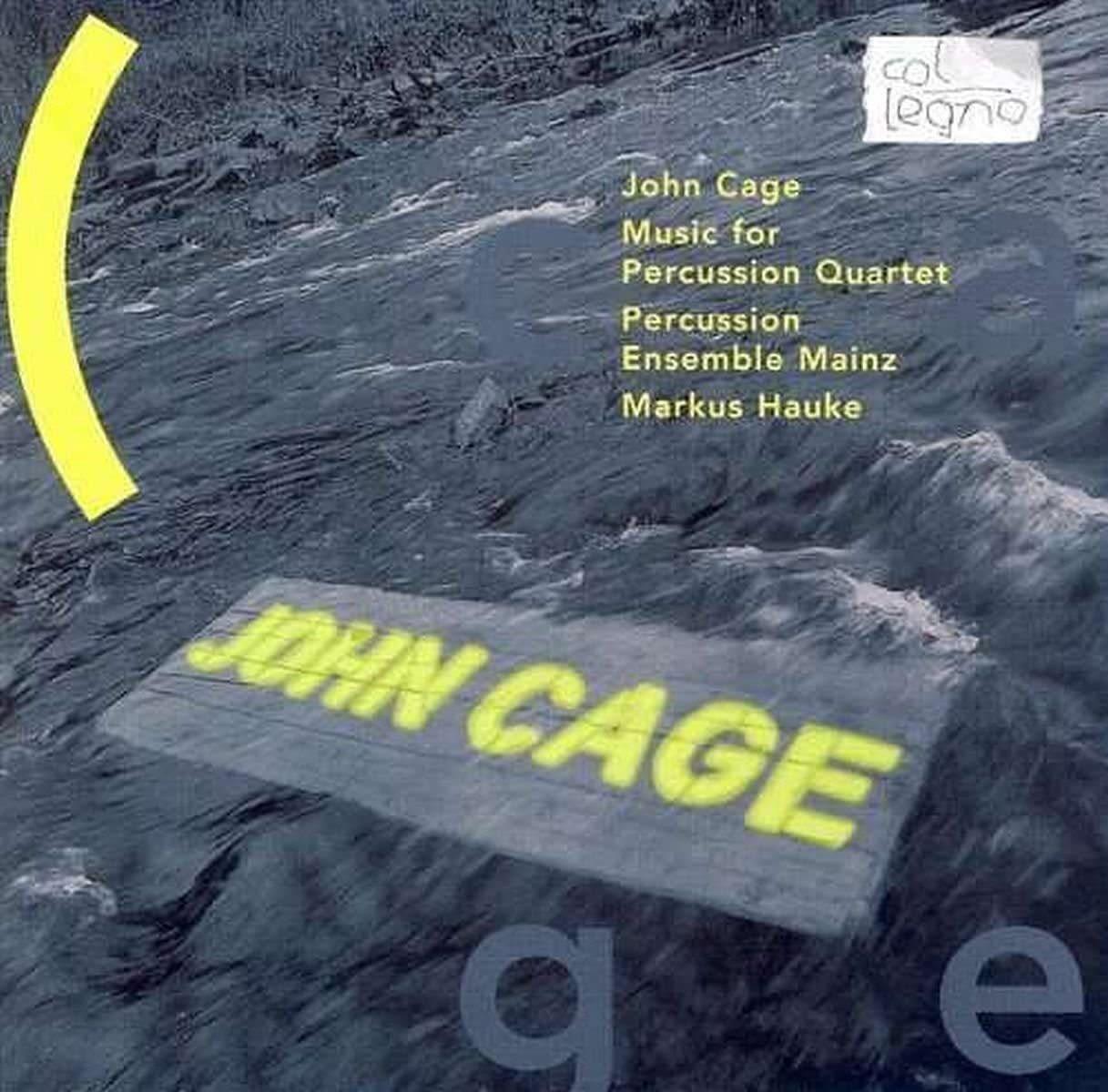 Photo No.1 of John Cage: Music for percussion quartet