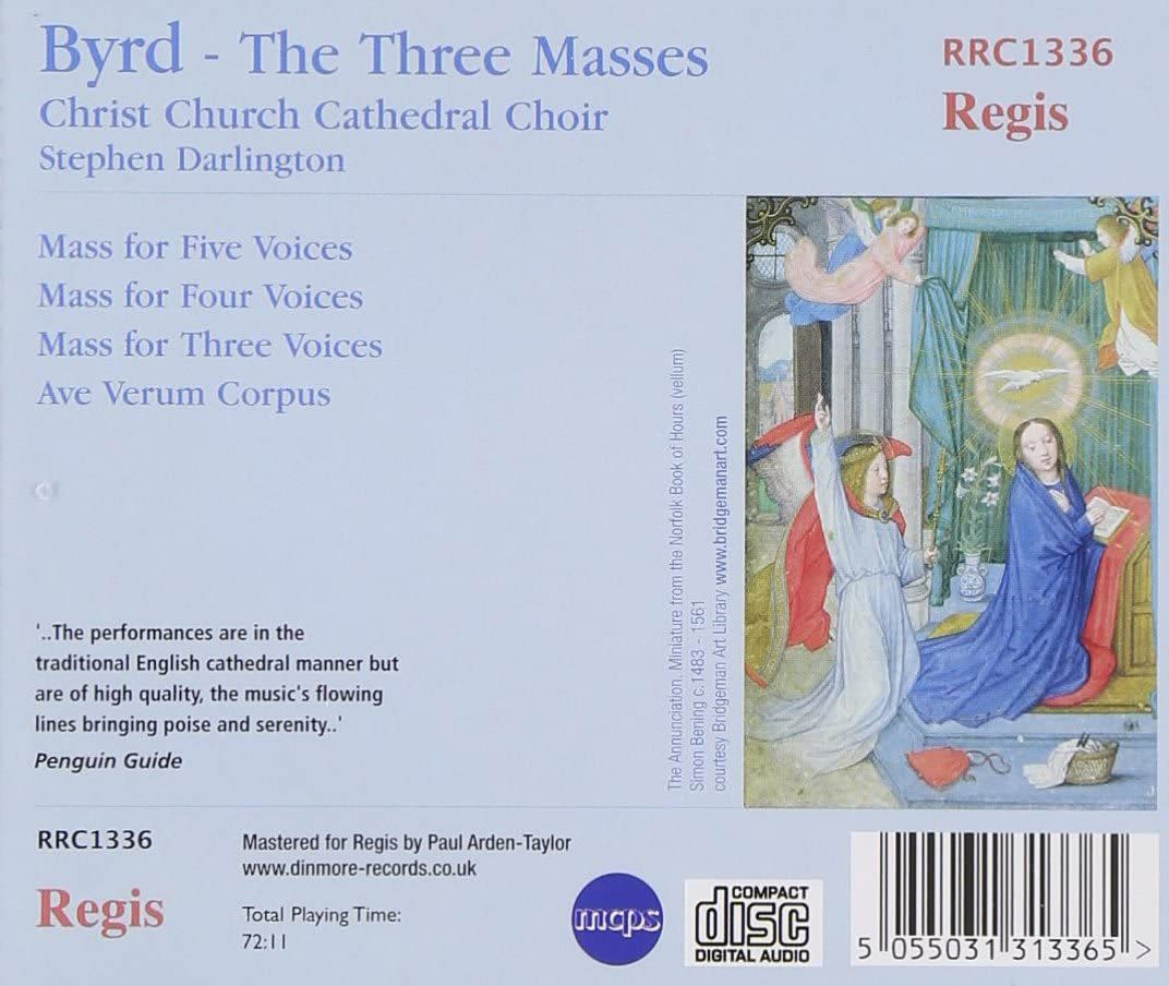 Photo No.2 of William Byrd: The Three Masses
