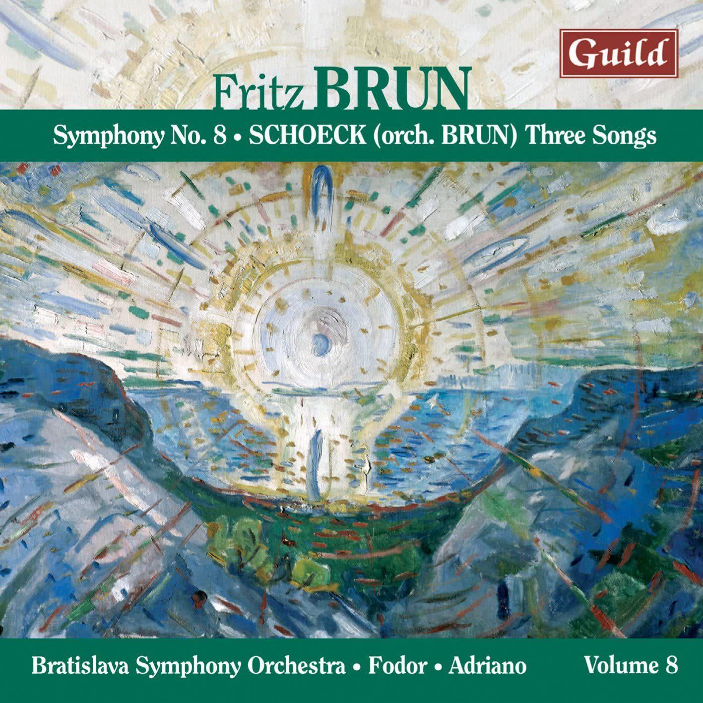 Photo No.1 of Brun: Symphony No. 8 & Schoeck: Three Songs