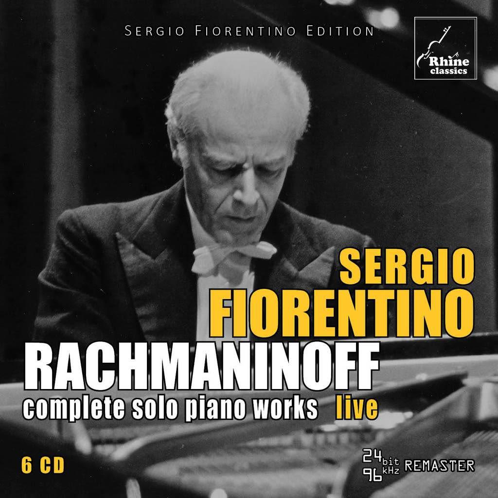 Photo No.1 of Sergio Fiorentino: Rachmaninov Solo Piano Works Complete