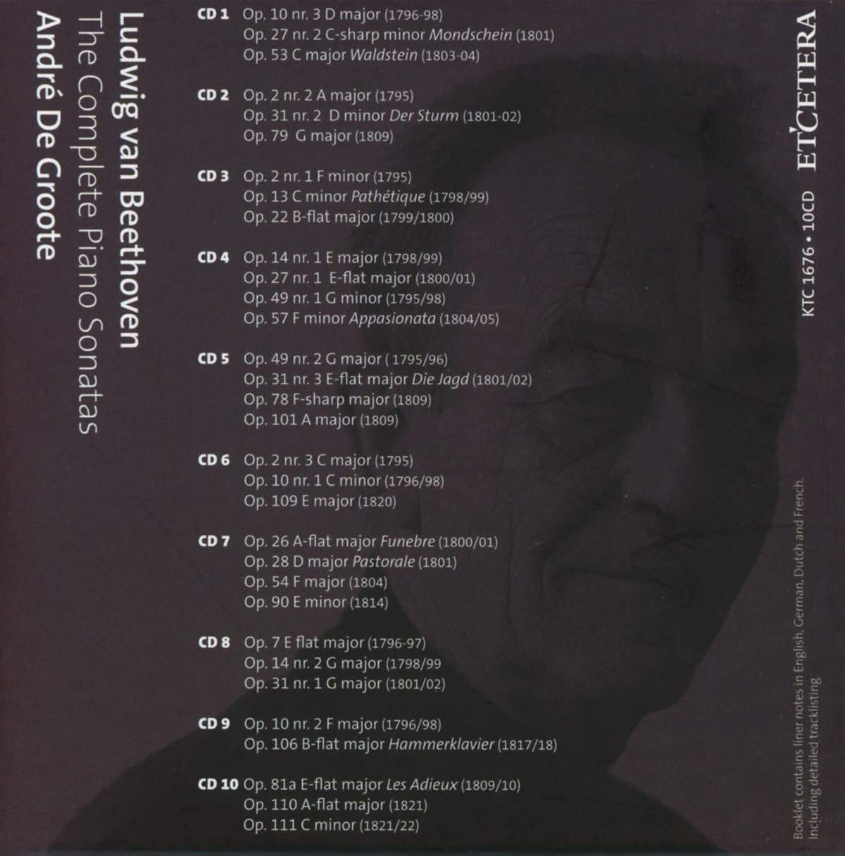 Photo No.2 of Beethoven: The Complete Piano Sonatas