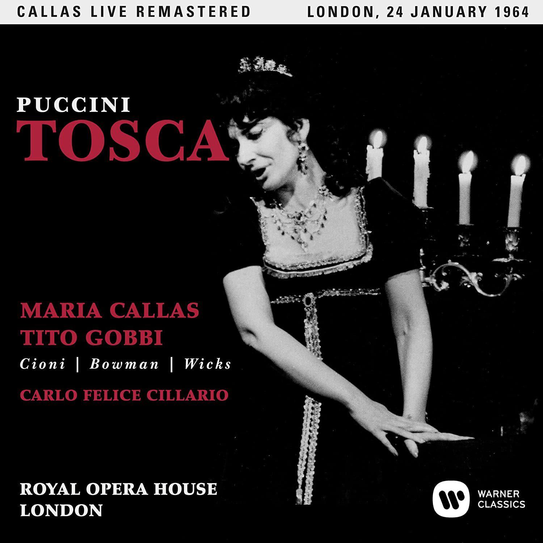 Photo No.1 of Giacomo Puccini: Tosca (Remastered Live Recording London 24.01.1964)
