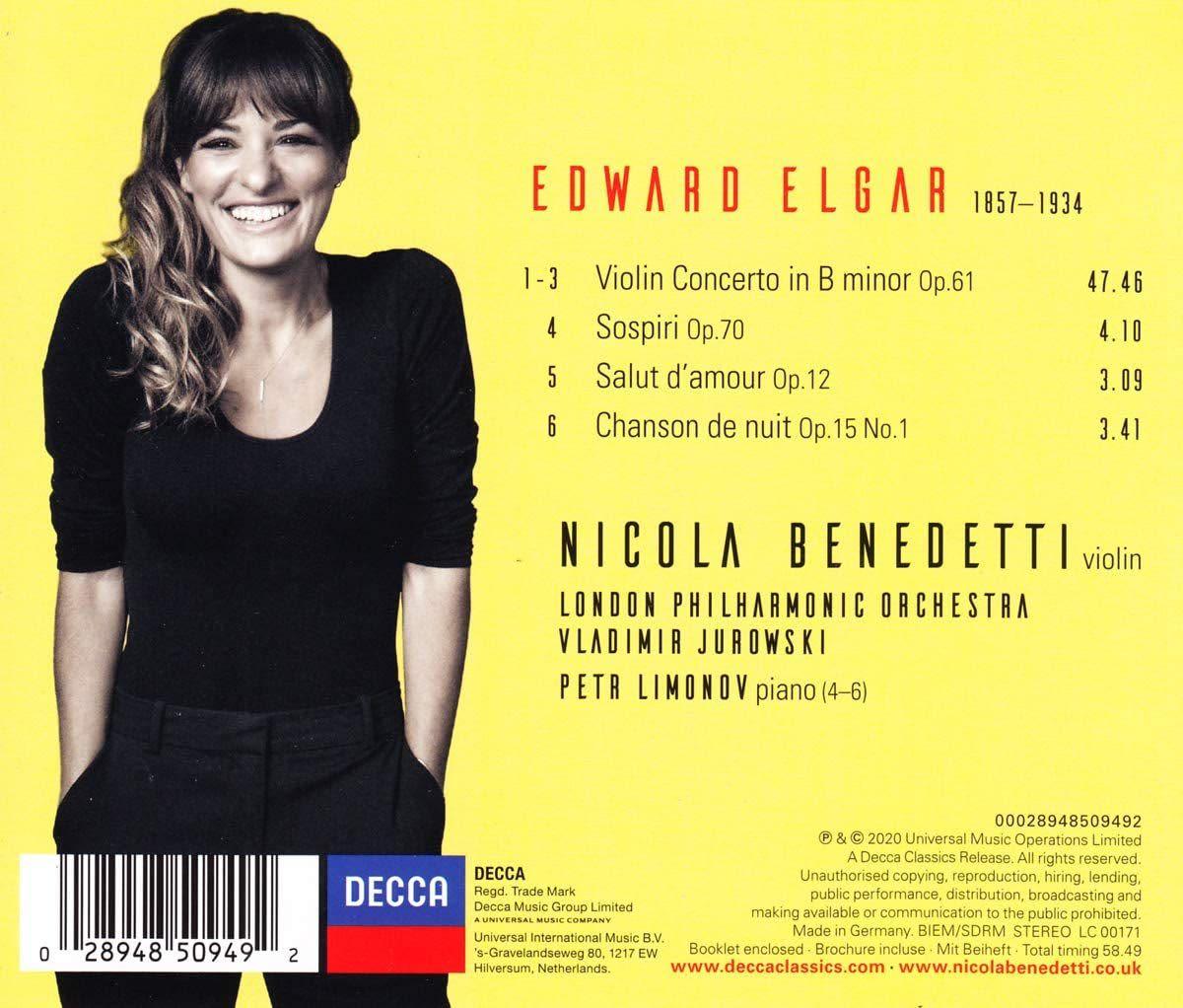 Photo No.2 of Elgar: Violin Concerto