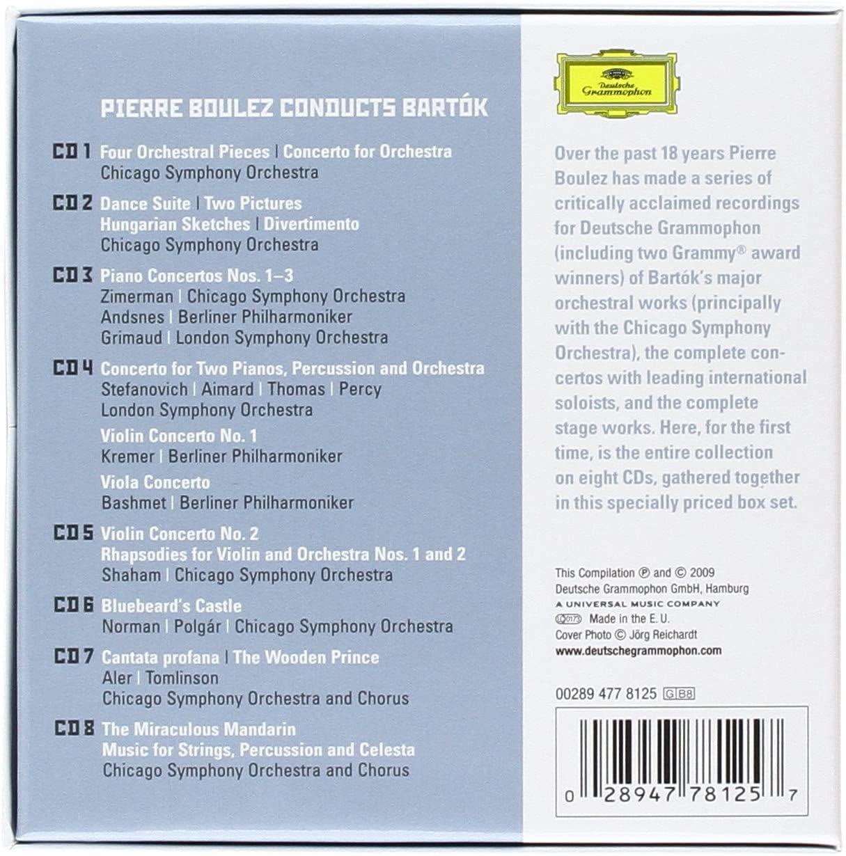 Photo No.2 of Boulez conducts Bartók