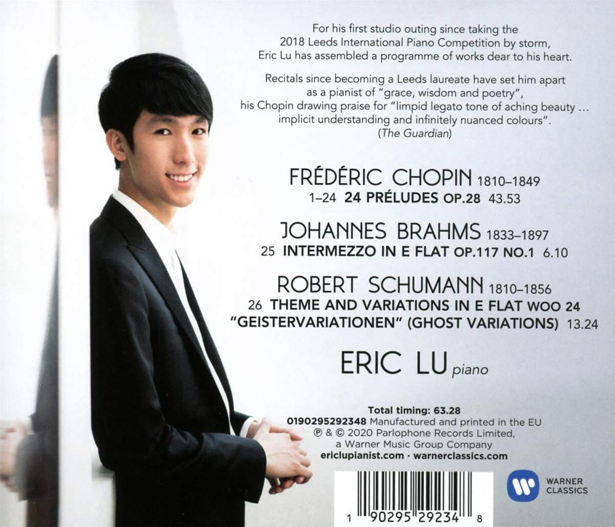 Photo No.2 of Chopin: Preludes, Op. 28 & Schumann: Ghost Variations