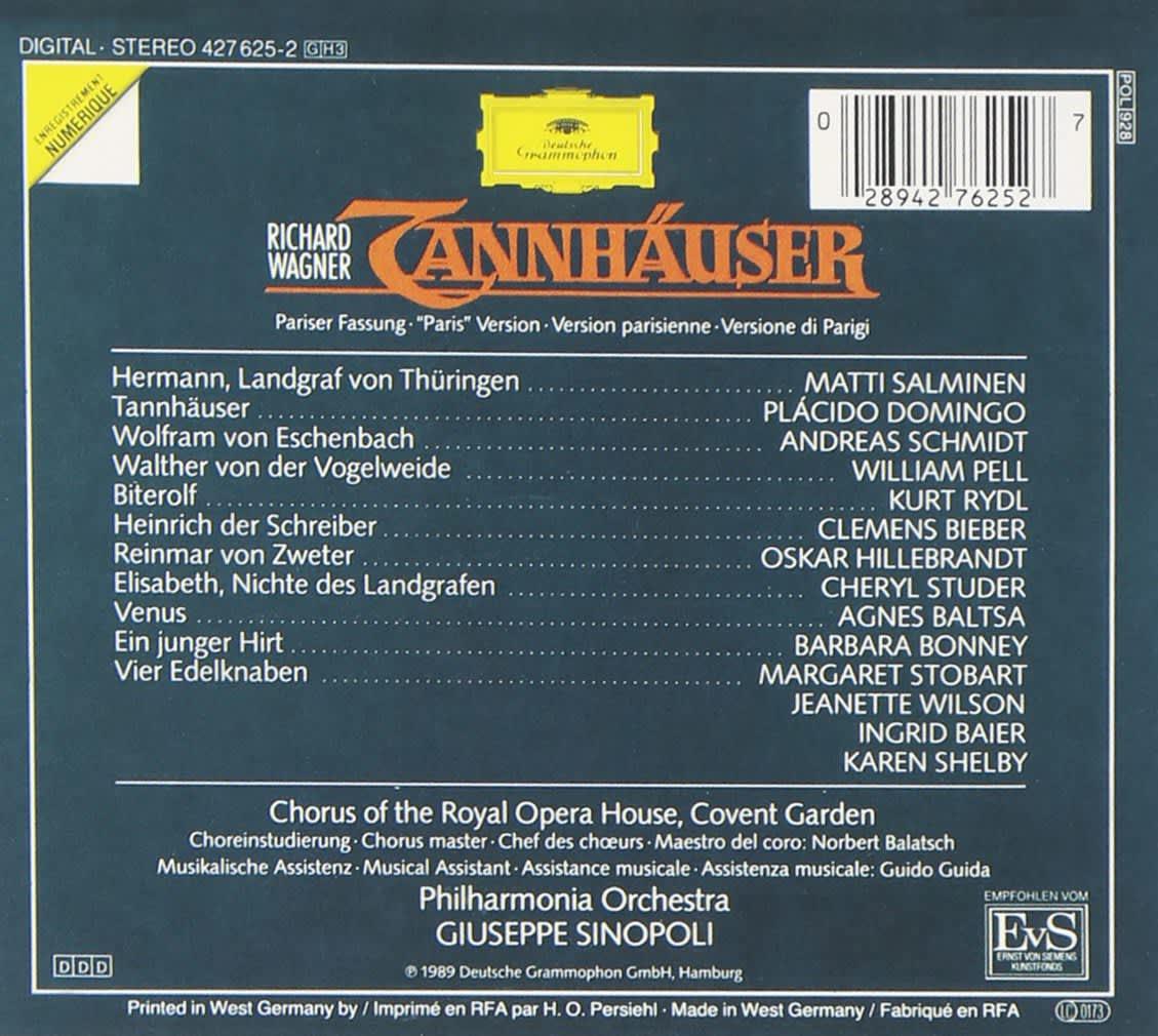 Photo No.2 of Richard Wagner: Tannhäuser