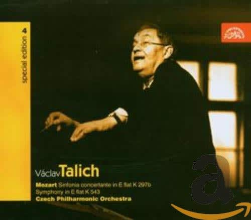 Photo No.1 of Talich Special Edition 4. Mozart: Sinfonia Concertante, Symphony in E flat