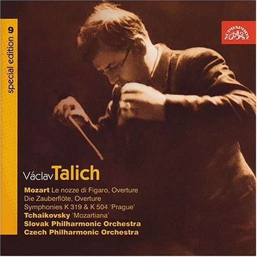 Photo No.1 of Talich Special Edition 9 - Mozart: Overtures, Symphonies Nos 33 & 38 & Tchaikovsky: Suite No. 4