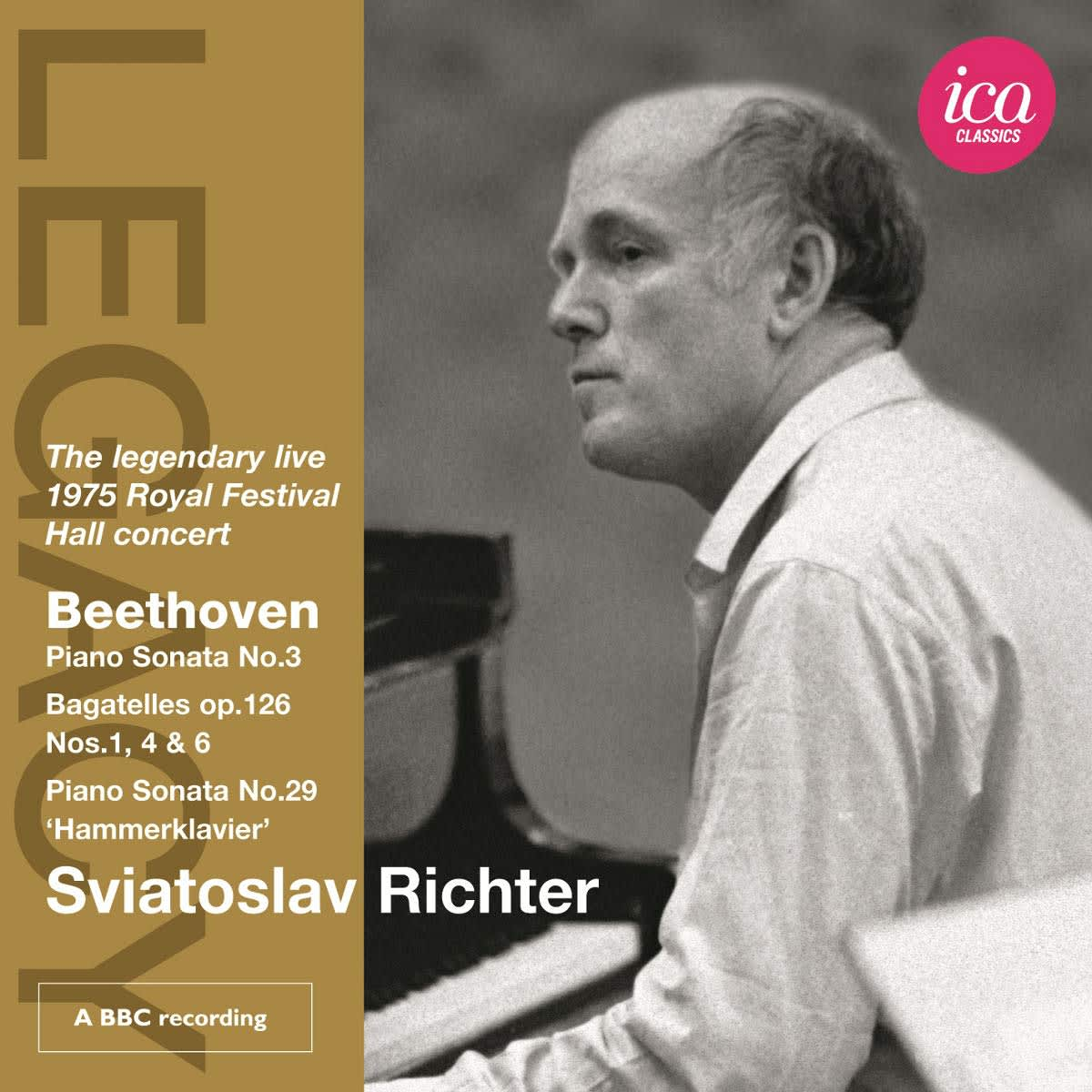 Photo No.1 of Sviatoslav Richter plays Beethoven