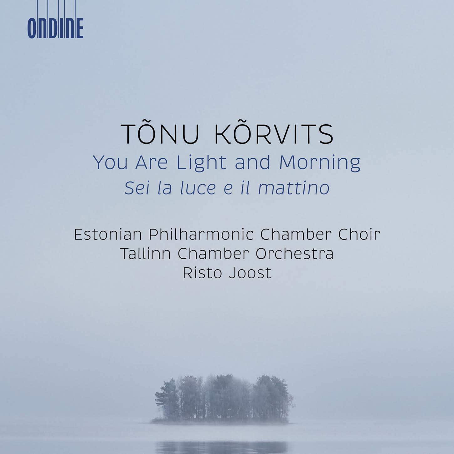 Photo No.1 of Tonu Korvits: You Are Light and Morning