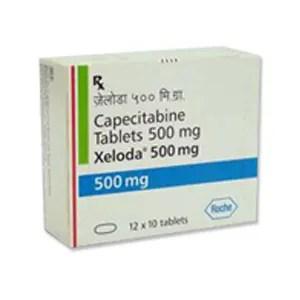 Xeloda 500 mg Tablet   Roche Capecitabine Tablet Price In ...