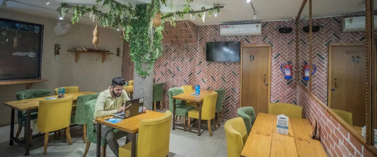 coworking spaces in south delhi cafe untold