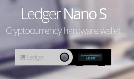 Monedero Fisico Ledger Nano S