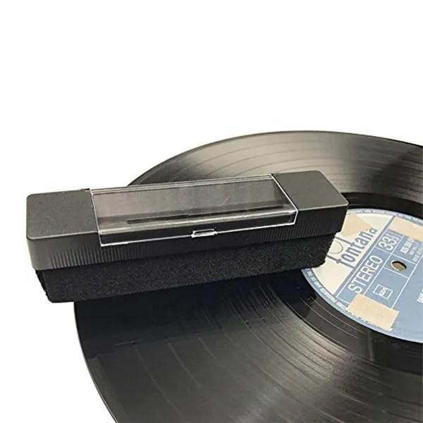 3120 cepillo limpiador vinilo cd uso