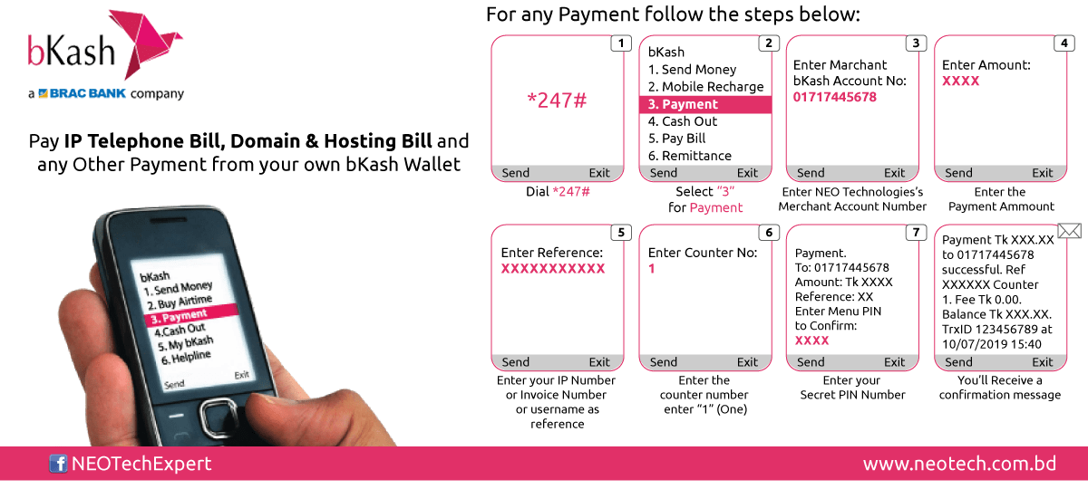 NEO Technologies bKash Payment