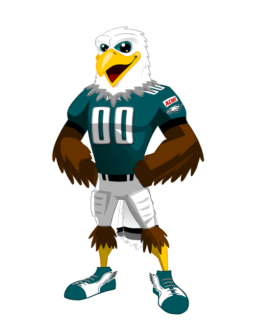 small resolution of swoop one of the most beloved and iconic mascots in the nfl is known for his fun loving personality being the center of attention and entertaining fans