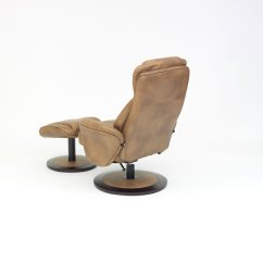 Swivel Chair Feet Lowes Rail Florence Recline With Free Foot Stool All