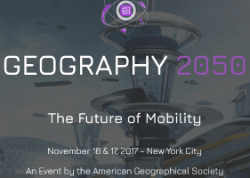 Geography 2050: The Future of Mobility: Nov 16 & 17 NYC