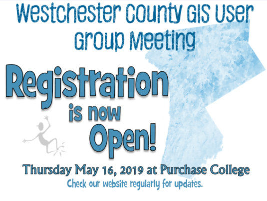2019 Westchester County GIS User Group Meeting – Registration is now open!