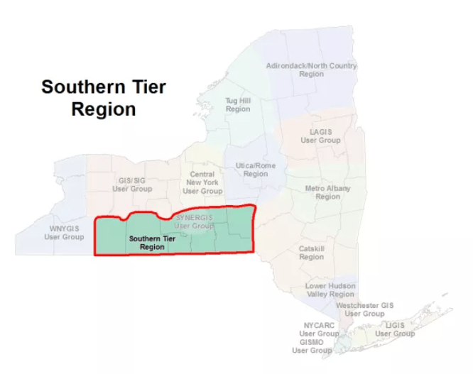 Southern Tier GIS Users Group Meeting (May 30)