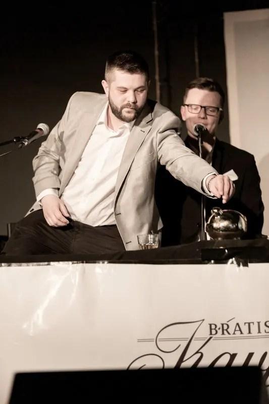 Joe Trendy a Marián Psár, Bratislavský Kaviár, február 2019 | foto Karol Václavík