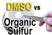 DMSO vs Organic Sulfur