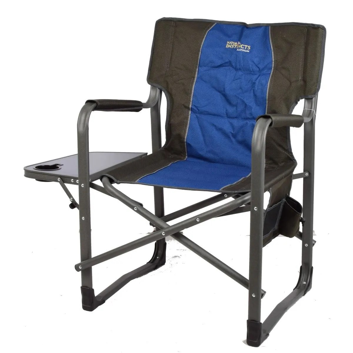Heavy Duty Outdoor Chairs Natural Instinct Platinum Heavy Duty Director Chair With Pocket
