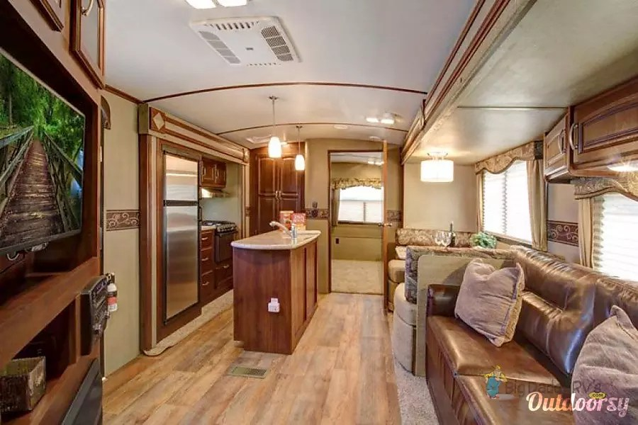 Keystone Outback Limited Edition Trailer Rental In